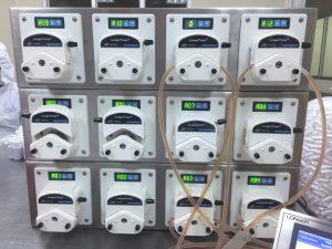 Máy chiết rót FU4B 12 kênh, hệ thống chiết rót FU4B 12 kênh