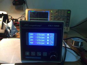 Màn hình điều khiển bơm chiết rót FK1-100Z