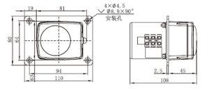 bản vẽ dòng TH15 với động cơ đồng bộ