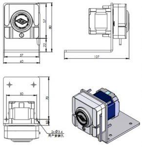 Bơm nhu động OEM T-S109 và WX10-14
